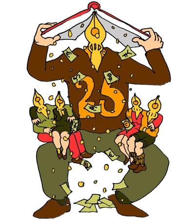25-jarig jubileum Stichting Leenrecht