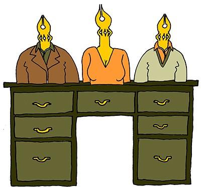 Bestuur en bureau van de Stichting Lira