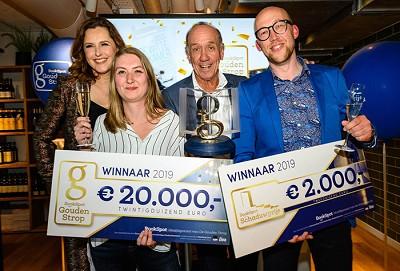 Debutante Samantha Stroombergen wint Gouden Strop