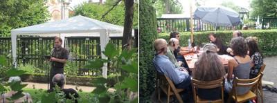 Dichters in de Prinsentuin 2012